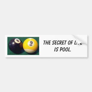 8-Ball 9-Ball Pegatina Para Auto