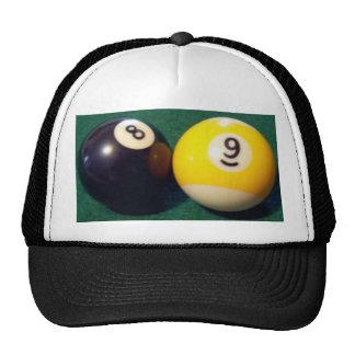 8-Ball 9-Ball Trucker Hat