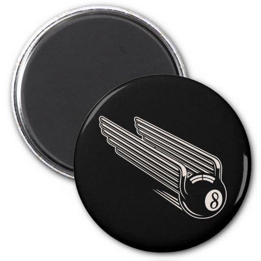 8-Ball - Aero Wings Magnets