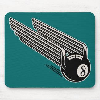 8-Ball - Aero Wings Mouse Pad