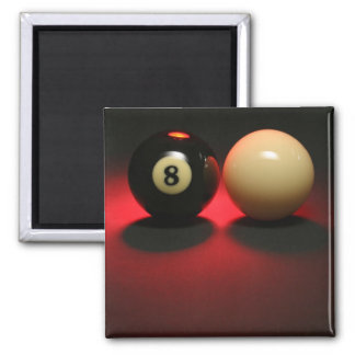 8 Ball and Cue Ball Magnet