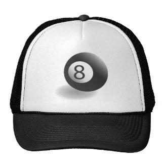 8 Ball Baseball Cap Hat
