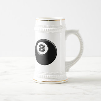 8 BALL BEER STEIN