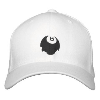 8 ball cap Black Ball Pool and Snooker gifts Embroidered Hat