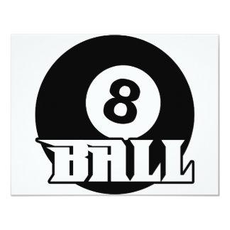 8 Ball Card