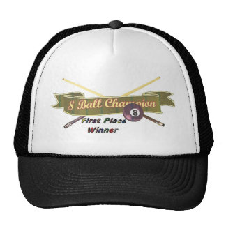 8-ball champ mesh hat