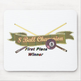 8-ball champ mouse pad