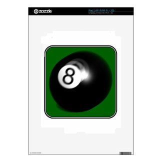 8 Ball Decal For The iPad 2