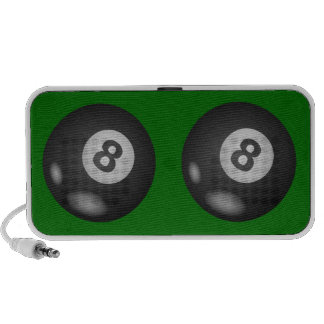 8 Ball Doodle Speakers