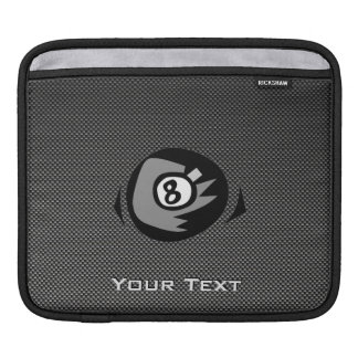 8 ball Faux Carbon Fiber Sleeve For iPads