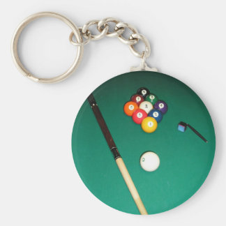 8 Ball Game Key Chain