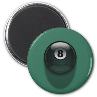 8-Ball Imán Redondo 5 Cm