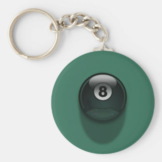 8-Ball Keychain