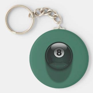8-Ball Llaveros Personalizados