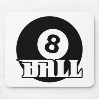 8 Ball Mouse Pad