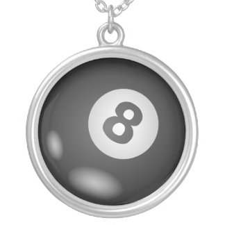 8 Ball Necklace