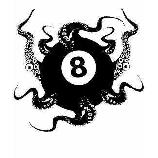 8 BALL OCTOPUS shirt