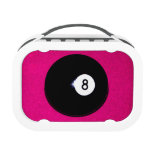 8 Ball on Pink Lunchboxes