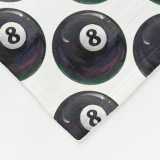 8 Ball Pattern Fleece Blanket