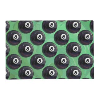 8 Ball Pattern Placemat