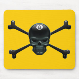 8-ball Pirate Mouse Pad