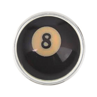 """8 Ball"" pool ball design gifts and products Pin"