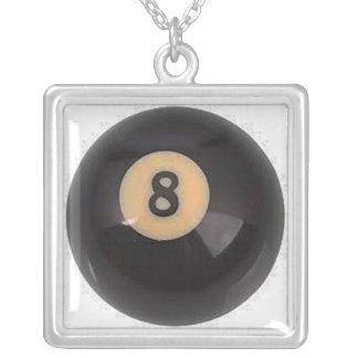 """8 Ball"" pool ball design jewelry set"