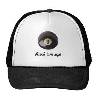 8 Ball Pool Shark's Cap Trucker Hat