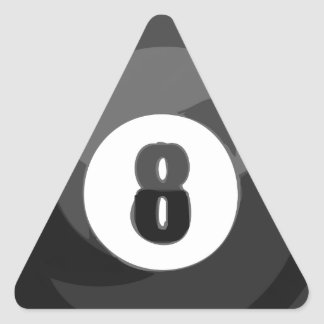 8 Ball Pool Triangle Stickers