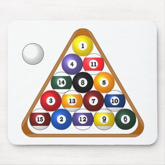 8-ball Rack mousepad