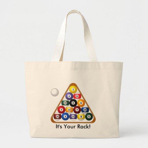 8-ball Rack tote Bag