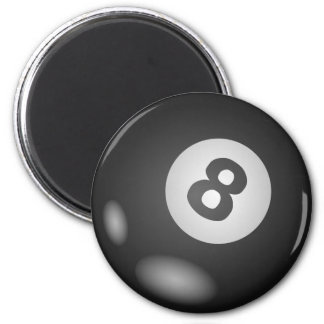 8 Ball Round Magnets
