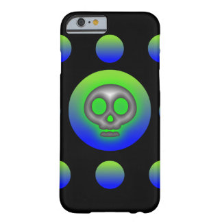 8 Ball Skull 2 Barely There iPhone 6 Case