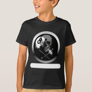 8 Ball Skull and Crossbones T-Shirt