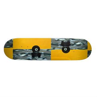8-ball, still life skate deck