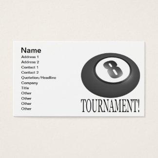 8 Ball Tournament 2 Business Card