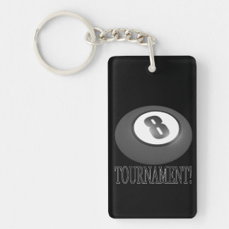8 Ball Tournament 2 Keychain