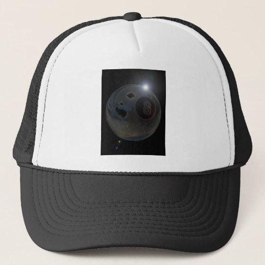 8-ball trucker hat