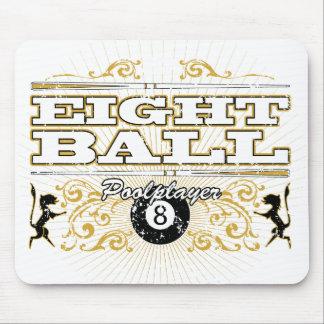 8 Ball Vintage Design Mouse Pad