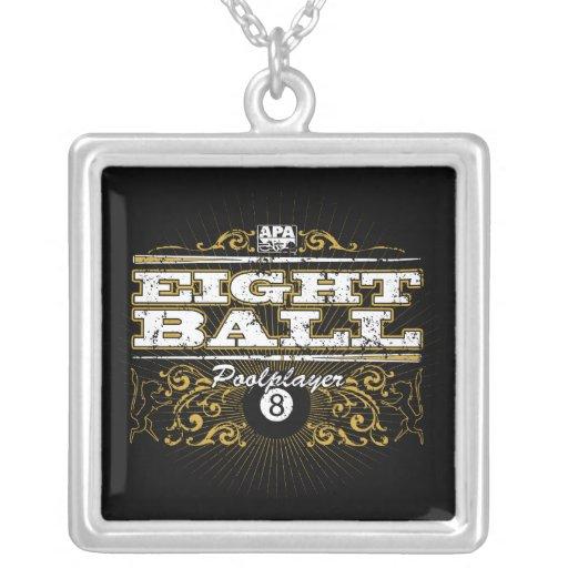 8 Ball Vintage Design Necklace