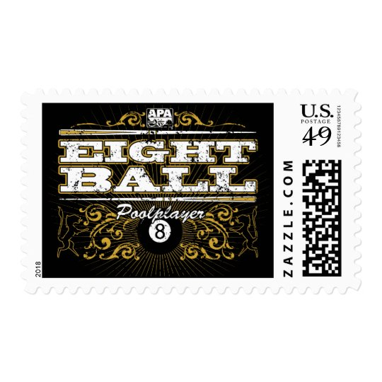 8 Ball Vintage Design Postage