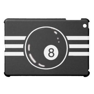 8 Ball White Stripes Cover For The iPad Mini