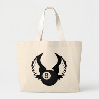 8 Ball with wings Bags