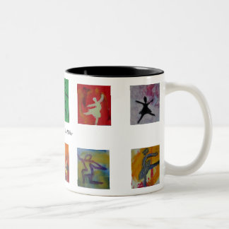 8 Ballerinas small Mugs