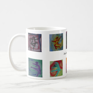8 Ballerinas small Coffee Mug