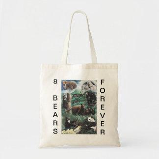 8 BEARS FOREVER TOTE BAG