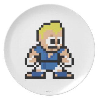 8-Bit Abel Melamine Plate