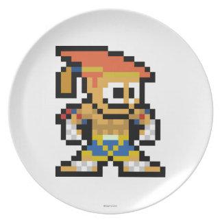 8-Bit Adon Dinner Plate