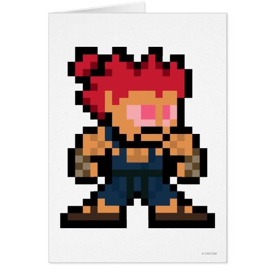 8-Bit Akuma Card