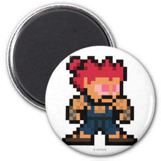 8-Bit Akuma Fridge Magnet